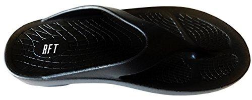 Sandalo Wave Da Compagnia Island Surf Con Tecnologia Foam Recovery Rft Nero