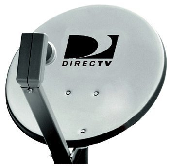 Directv Satellite Dish 18 Dual LNB Antenna and Mast