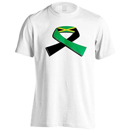 Neue Jamaika Flagge Reise Welt Herren T-Shirt m143m