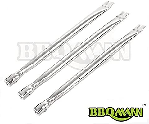 BBQMANN BD041 (3-pack) Replacement Straight Stainless Steel Burner for BBQ  Grillware, Ducane, Home Depot, Lowes Model Grills