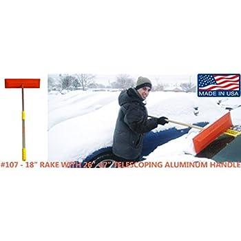 Amazon Com Sno Rake Model 101 12 Quot Rake 24 Quot Wood