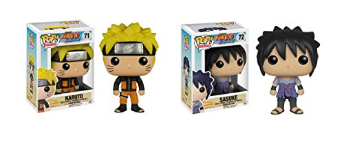 Pop Animation Naruto & Sasuke Shippuden Funko Pop Vinyl Figurine by FreeShipp
