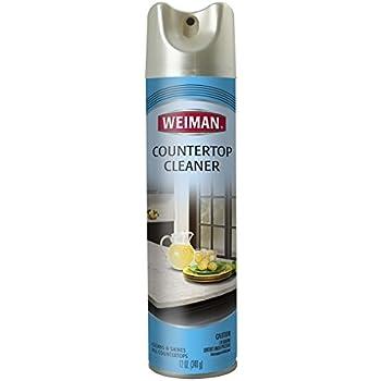 Amazon Com Weiman Countertop Cleaner 12 Oz Aerosol
