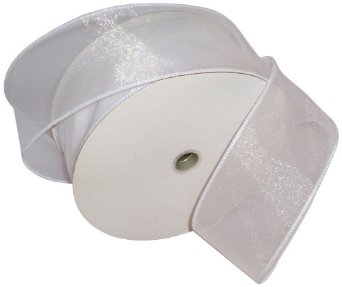 Reliant Ribbon Sheer Lovely We 50 Ribbon, 2.5-Inch by 50-Yard, -