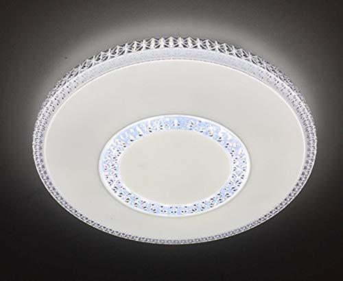 Plafón LED 54w con regulable y Cambiar la Temperatura de Color con Control Remoto Lámpara De Techo (C915)