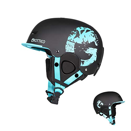 Image of the GROTTICO Ski-Snow Helmet for Kids-Youth-Women-Men - Snowboard Helmet Pass ASTM Certified Safety, 3 Sizes Options
