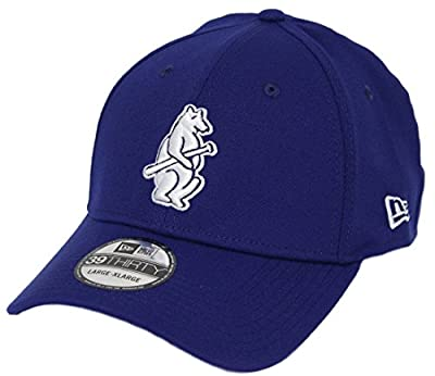 New Era Chicago Cubs MLB 39THIRTY Cooperstown Classic Flex Fit Hat - Bear