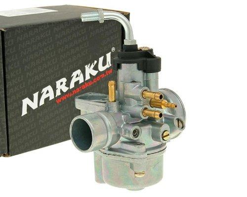 Vergaser Naraku 17,5mm mit E-Choke Vorbereitung f/ür Malaguti F15 Firefox 50 LC 04-