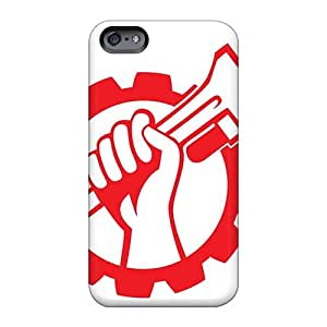 Bumper Hard Cell-phone Cases For Iphone 6plus (HWU4990ZcLL) Provide Private Custom Realistic Massive Attack Band Skin