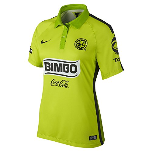Club America Women's Soccer Jersey 2014/15 (M) (Club America Green Jersey compare prices)