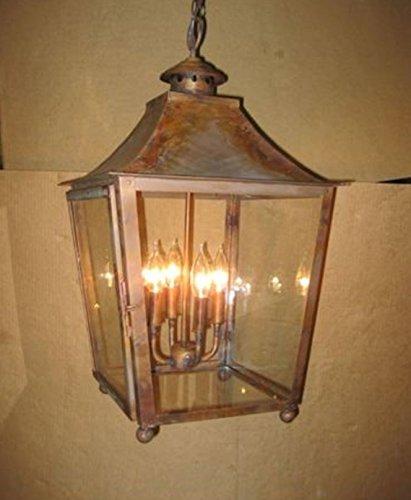 St. James Orlando Large Copper Lantern (Charleston Large Hanging Lantern)