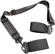 Shoulder Ski Carrier Straps Adjustable Sling with Cushioned Holder - Upgrade with Anti Slip Shoulder Pad - Las