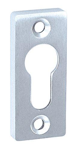 Embellecedor de corredera Alpertec de aluminio anodizado y roseta para picaporte puerta, 65 x 30 mm, altura 10 mm, plata, 40111980K1: Amazon.es: Bricolaje y ...