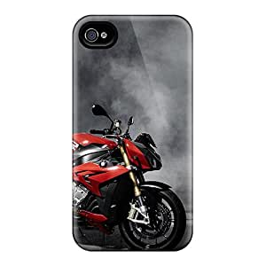 For Iphone 4/4s Tpu Phone Case Cover(2014 Bmw S1000r)