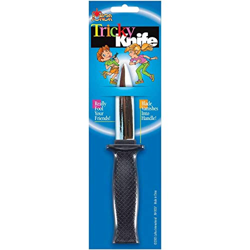 Trick Knife Dagger With Disappearing Blade Halloween Costume Prop Joke]()