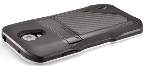 best website 786b5 2ded1 Element Eclipse Case for Samsung Galaxy S4 - Retail Packaging - Black/Silver