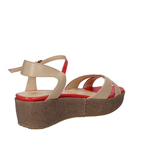 Sandals liu Coral Beige Women's Fashion jo qPvAZ