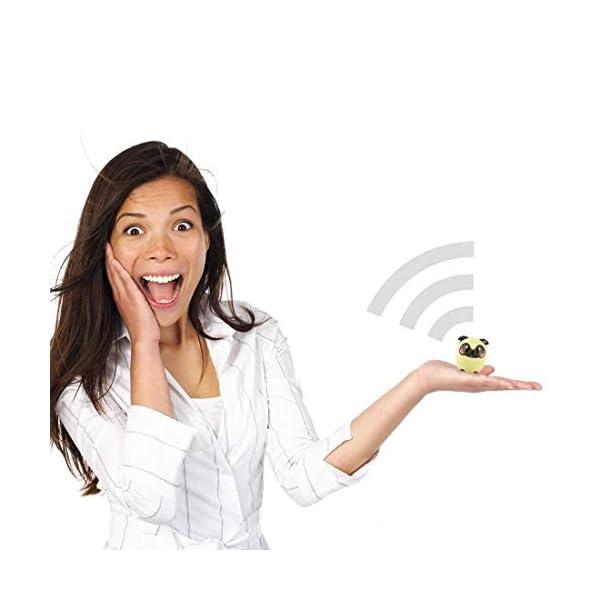 TBS2520 Mini Enceinte Bluetooth sans Fil - Mini-Animal Chien - Super Mignon & Puissante - 3 Watts - Kit Main-Libre Téléphone & Selfie - Appli pour Jouer - pour iPhone Samsung Huawei etc & Tablette 3