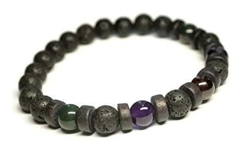Amazon.com: Unisex/Mens Gemstone Bracelet for General Good ...