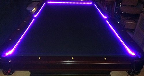 OCTANE LIGHTING Bar Billiard Pool Table Bumper Led Rgb Color Changing Lights Remote ()