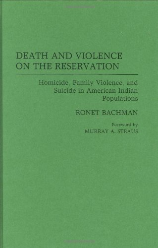 Download Death and Violence on the Reservation: Homicide, Family Violence, and Suicide in American Indian Populations Pdf