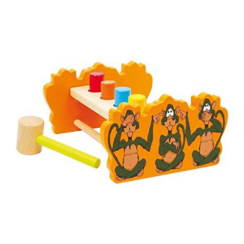 Legler Reversable Hammer Bench Preschool Learning Toy