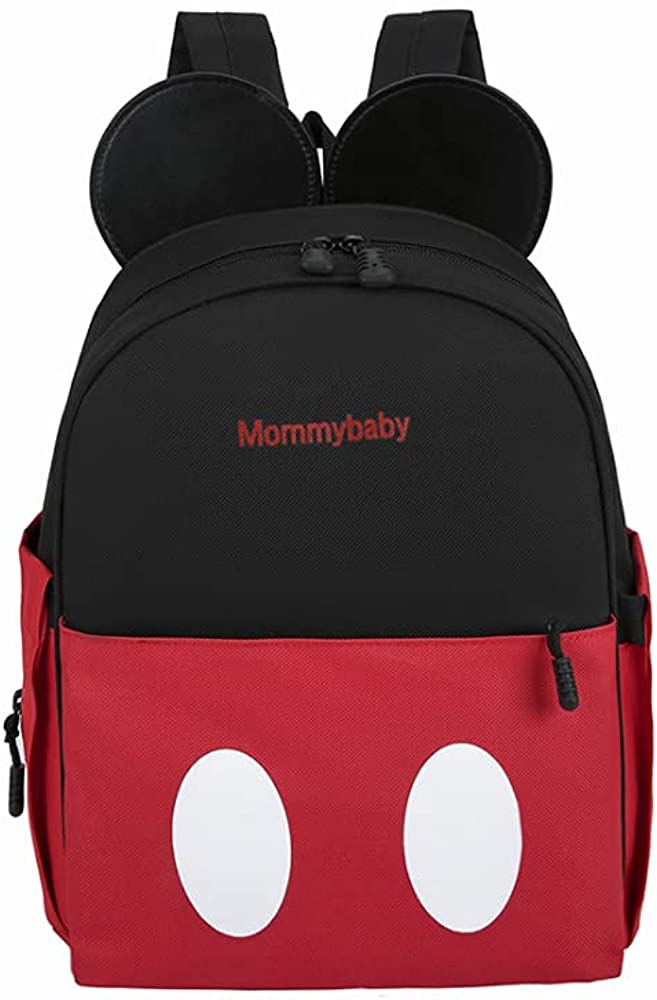 OMGA Mummy Mickey Mouse Diaper Bag Nylon Stylish Nappy Bags With insulation layer Multi-Function for Baby Bag