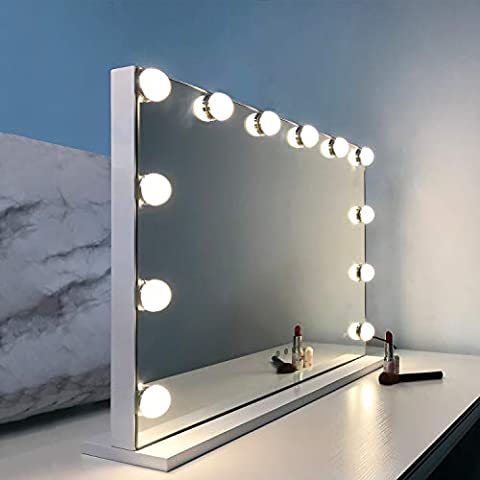 WAYKING Makeup Mirror with Lights, Hollywood Lighted Vanity - Sale: $99.99 USD
