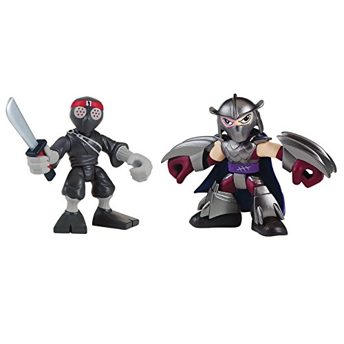 Teenage Mutant Ninja Turtles Pre-Cool Half Shell Heroes Shredder and Foot Solider Figures]()