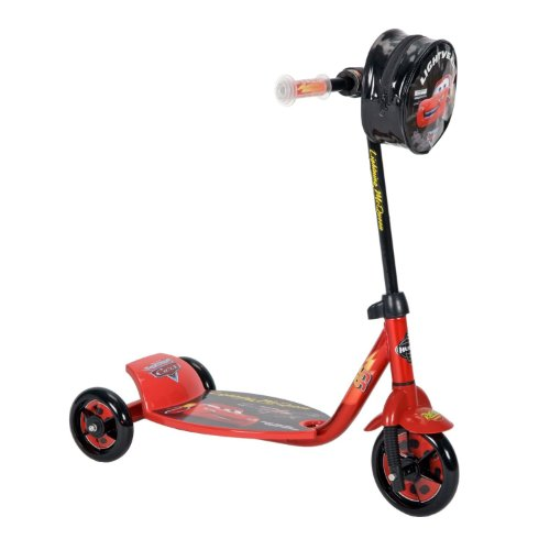 Disney Cars Scooter - New Lightning McQueen CARS Scooter - Preschool 3 Wheeled Scooter by Disney Pixar Cars - HUFFY