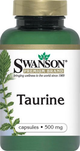 Taurine 500 mg 100 Caps by Swanson Premium (3)