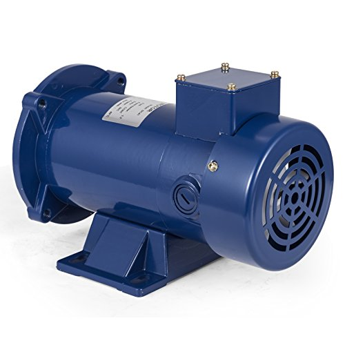 - VEVOR 1/2 Hp DC Motor Rated Speed 1750 RPM 90V Electric Motor Permanent Magnet Motor with Brushes