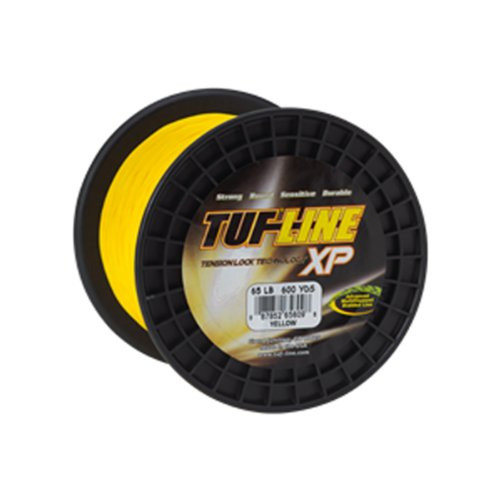 Tuf-Line XP Fishing Line with 80-Pound Test, 150-Yard, Hi-Visible Yellow Braid (Tuf Tension Lock Line Xp)