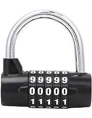 Keenso Travel Code Lock Zinklegering 5 cijfers Code Combinatie Lock Anti-diefstal Sloten voor Bagage Reizen Gym Garderobe