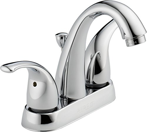 Peerless Tunbridge 2-Handle Centerset Bathroom Faucet with Pop-Up Drain Assembly, Chrome P299695LF