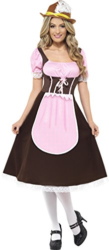 Tavern Girl Adult Costume Long Dress - Medium Import Beer Girl Costume