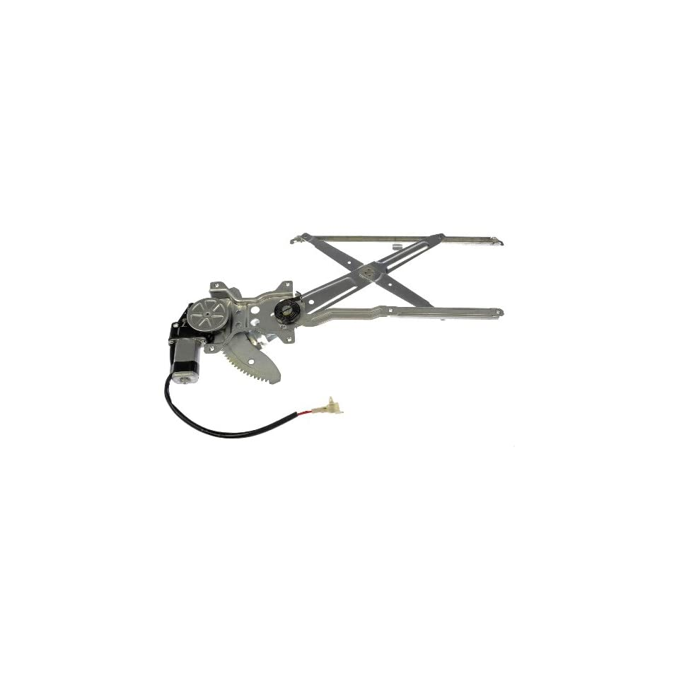 Dorman 741 799 Toyota Tacoma Front Driver Side Power Window Regulator with Motor