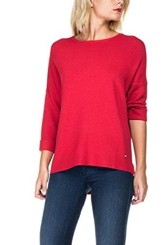 SALSA Jersey liso con manga 3/4 Rojo