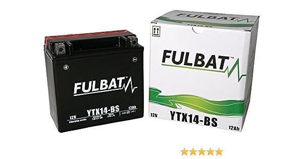 Bater/ía sin mantenimiento YTX14-4 Varta YTX14-BS