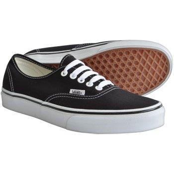 black vans uk 4