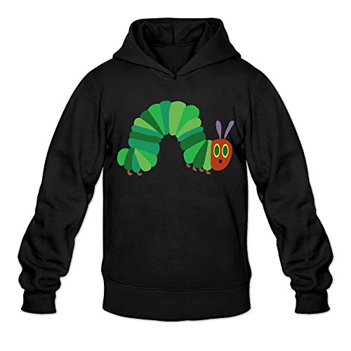 Dodge Challenger Costume (DVPHQ Men's Funny The Very Hungry Insect Hoodies Size M Black)