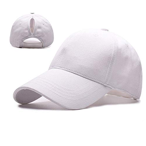 OUTER Ponytail Baseball Cap Hat Adjustable Outdoor Sports Ca