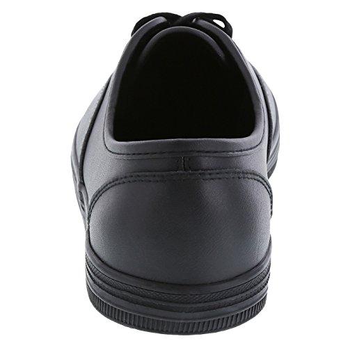 Resistant Leather Women's Kandice Slip Black Leather safeTstep Oxford 4w0z5nPwx