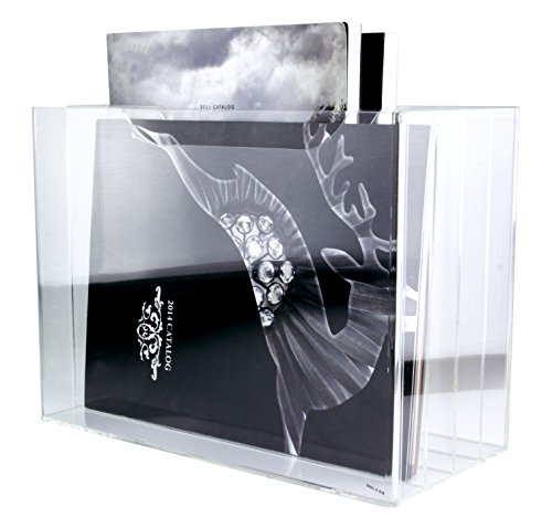 Multifunctional Tabletop Clear Acrylic 4-Tier File (Four Tier Stackable)