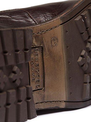 Selected SHBen Boot - Zapatillas para deportes de exterior de Piel para hombre Marrón marrón