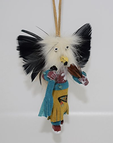 Owl Kachina Christmas Tree Ornament (Kachina Doll Owl)
