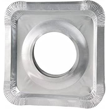 Amazon Com Aluminum Foil Square Gas Stove Burner Covers
