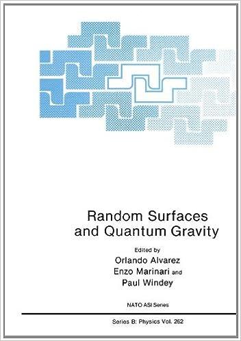 Random Surfaces and Quantum Gravity: International Proceedings (NATO Science Series B: Physics)