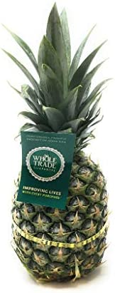 Pineapple Whole Trade Gaurantee Organic, 1 Each