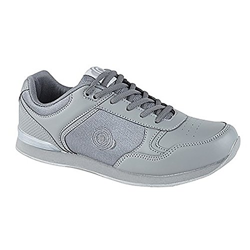 Dek Herren Jack Lace Up Sneaker-Stil Bowlingschuhe Grau